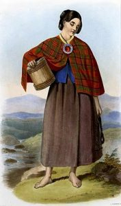 barefoot scottish woman